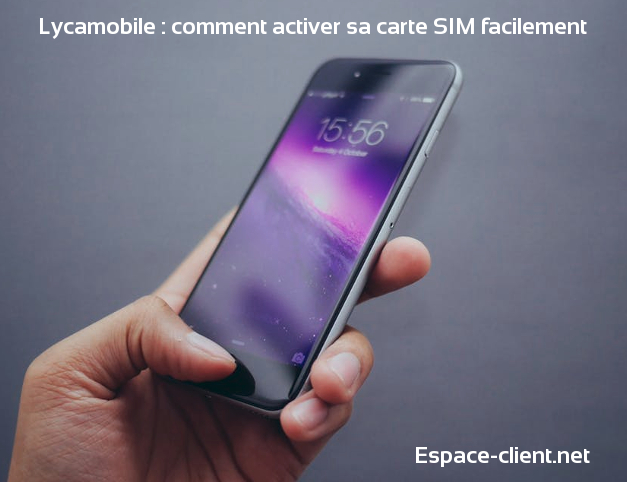 activer ligne lycamobile