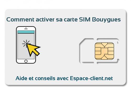 bouygues activation carte sim Carte SIM Bouygues : comment activer sa ligne Bouygues Télécom