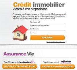 Simulation via mon espace client - Erreur credit immobilier ...