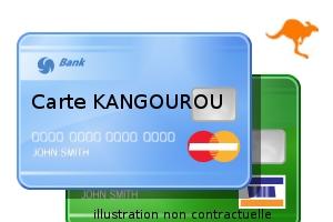 Carte kangourou