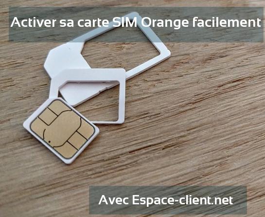 Contacter le service client d'Orange.