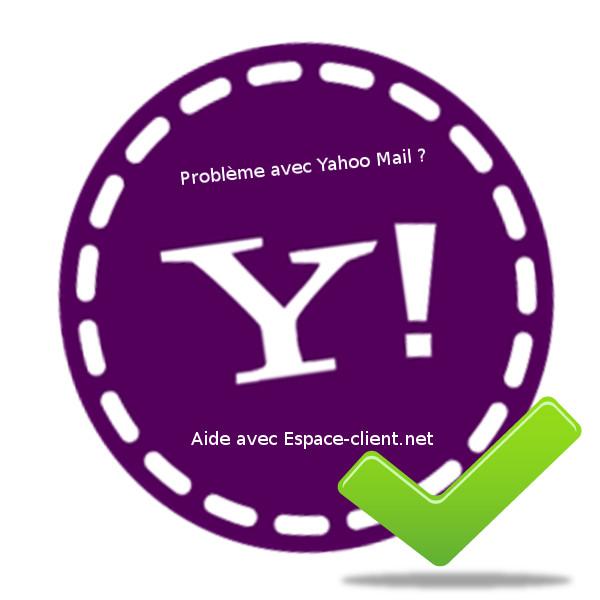 Problème avec yahoo mail