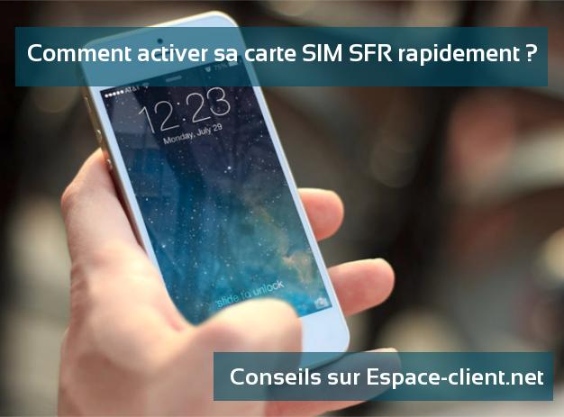 SFR carte SIM