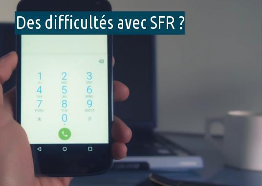 problèmes avec SFR