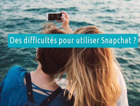 Des soucis avec votre compte Snapchat ?
